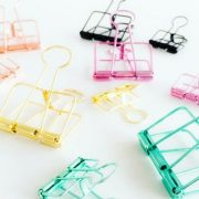 Studio stationery binder clips gold XL Tutze.nl